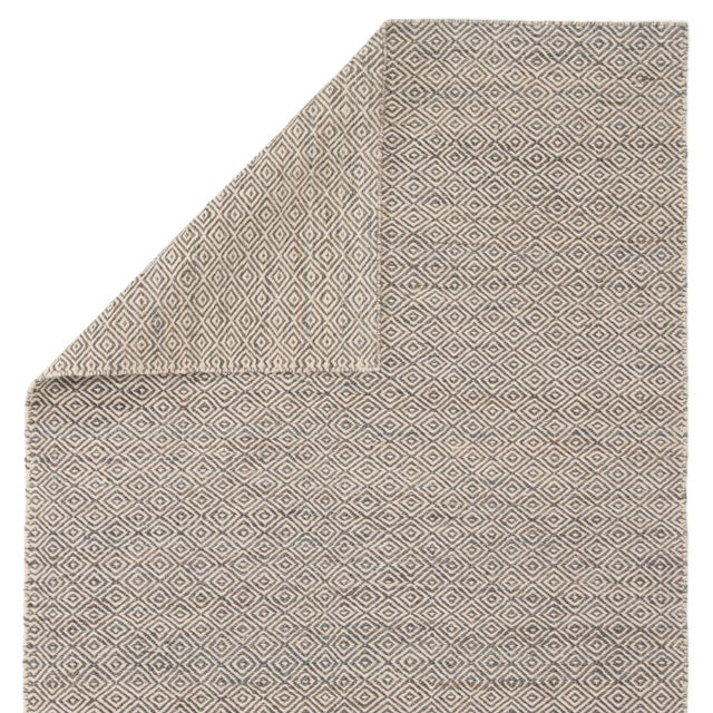 Jaipur Living Wales Natural Geometric Gray/ White Area Rug - 9′ × 12′ For Sale - Image 4 of 6