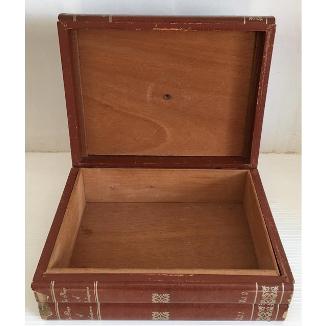 Storage Box 1950's Faux Shakespeare Book For Sale - Image 4 of 10
