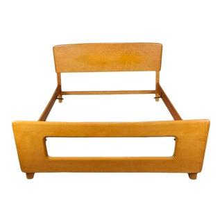 Heywood Wakefield Dogbone Double/Full Bedframe 1960s Mid-Century Modern For Sale