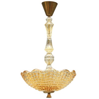 A Chandelier by Orrefors. For Sale