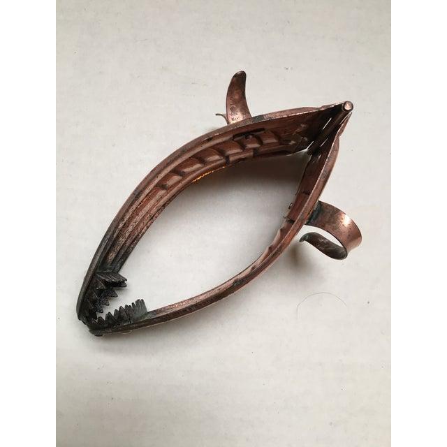 Antique Copper Coal Tongs - Image 9 of 9