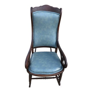 Mid 20th Century Classic Rocker Chair For Sale
