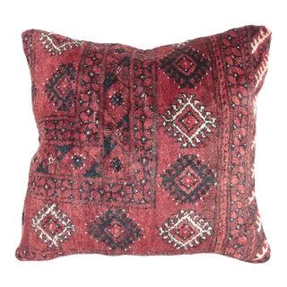 Vintage Turkoman Rug Pillow