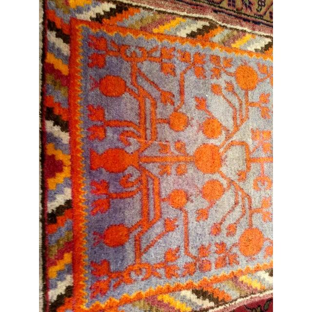 19th Century Art Nouveau Khotan Rug Runner - 2′2″ × 8′1″ For Sale - Image 4 of 12