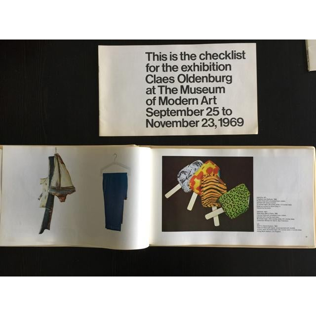 "1969 Claes Oldenburg ""Soft Sculpture"" Exhibition Catalog - Image 8 of 11"