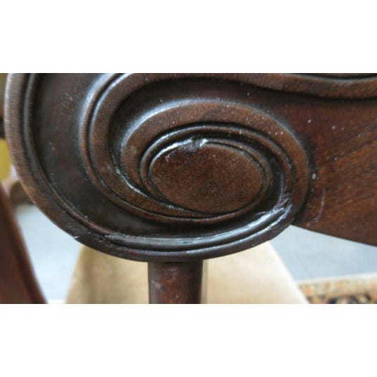 William IV Mahogany Side Chairs C. 1825 - Set of 4 - Image 3 of 4