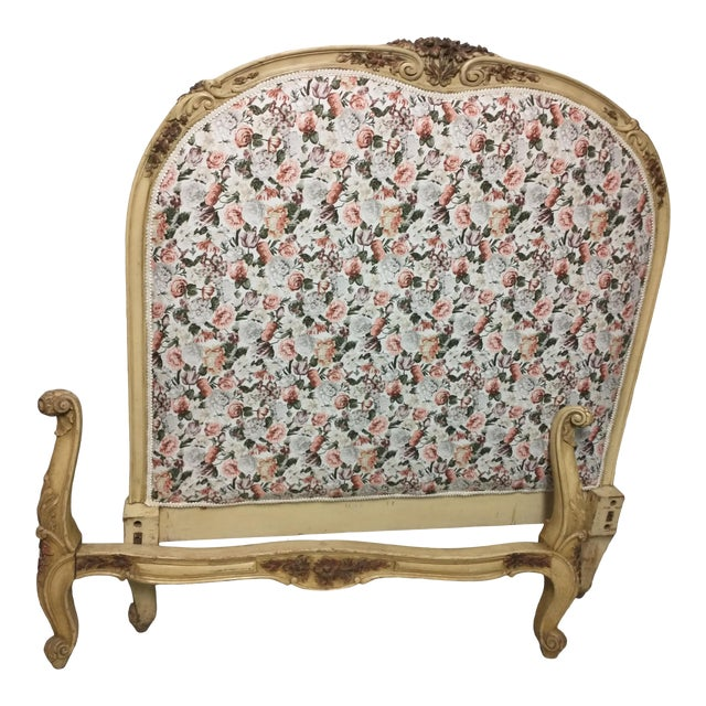 19th Century Antique Twin Headboard and Footboard For Sale