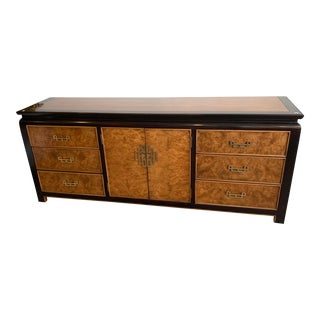 Mid Century Modern Chin Hua Century Furniture of Distinction Credenza For Sale