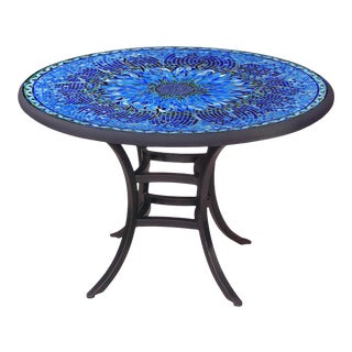 """Bella Bloom 60"""" Bistro Table with Black Base For Sale"""