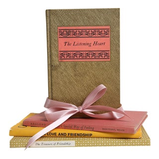 Vintage Book Gift Set: Love & Friendship - Set of 4