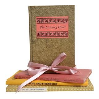 Vintage Book Gift Set: Love & Friendship - Set of 4