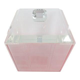 Vintage Mid-Century Lucite Ice Bucket
