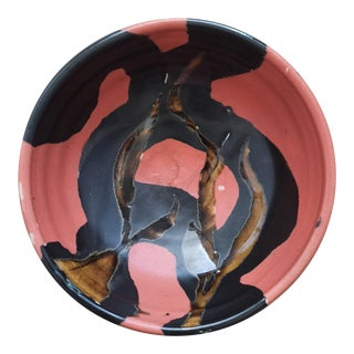 Studio Pottery Bowl by Bg, '99 For Sale