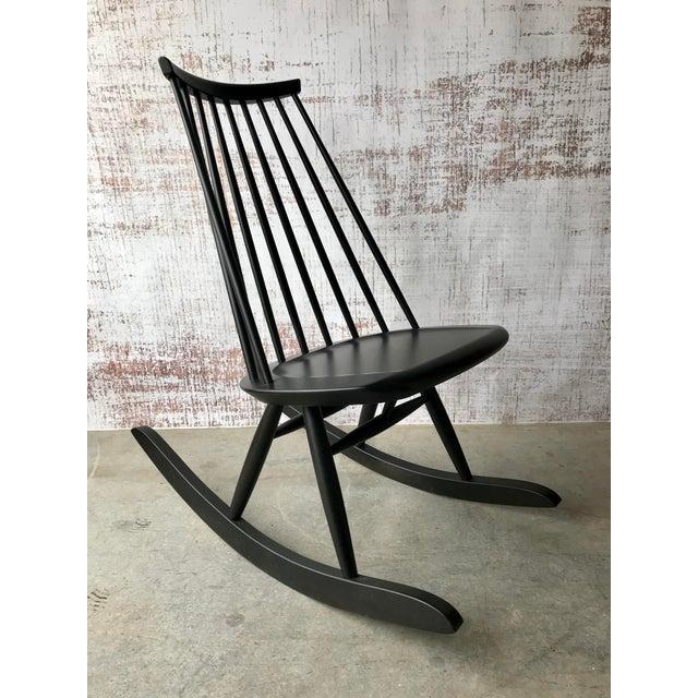 Artek Mademoiselle Rocking Chair by Ilmari Tapiovaara For Sale - Image 9 of 9