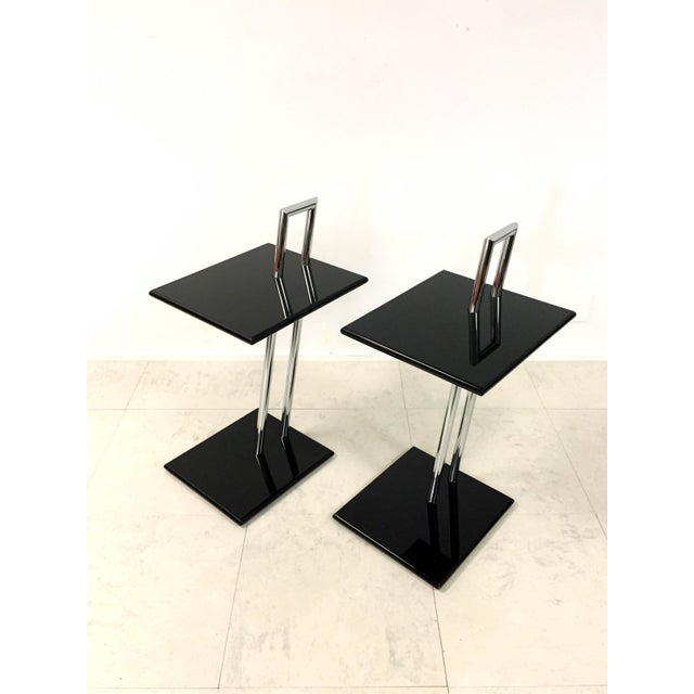 Vintage Eileen Gray Occasional Table - Pair - Image 2 of 7