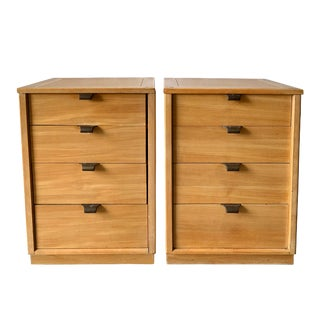 Pair of Mid Century Nightstands by Edward Wormley Drexel Precedent For Sale