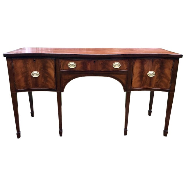 Wood Heppelwhite Sideboard For Sale - Image 7 of 7