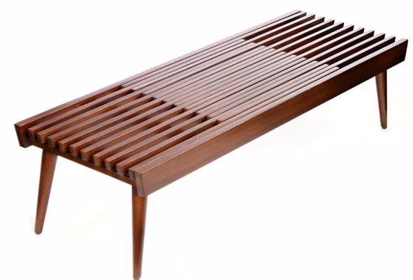 Japanese Expanding Slat Bench Chairish