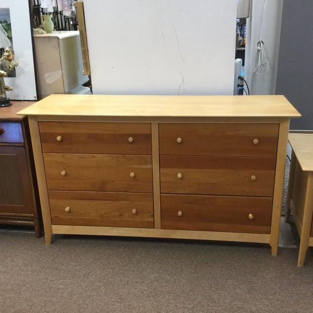 Copeland Cherry & Maple Wood Dresser - Image 2 of 5