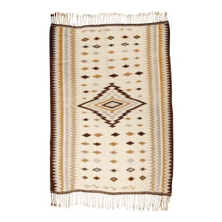 """Vintage Mayo Weaving, 4'2"""" X 5'9"""" For Sale"""