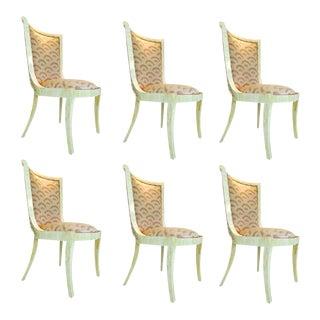 Enrique Garcel Bone Dining Chairs - Set of 6 For Sale
