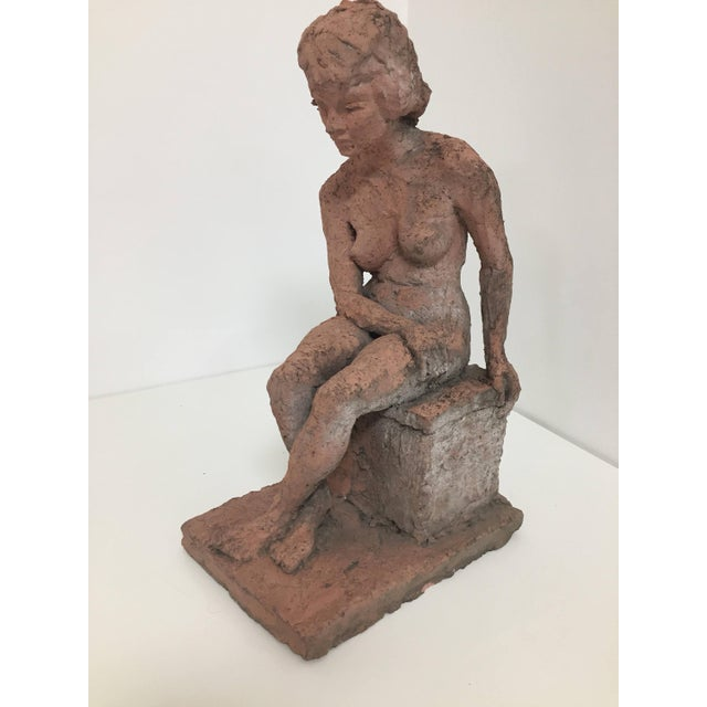 Female Nude Concrete Sculpture For Sale - Image 4 of 6