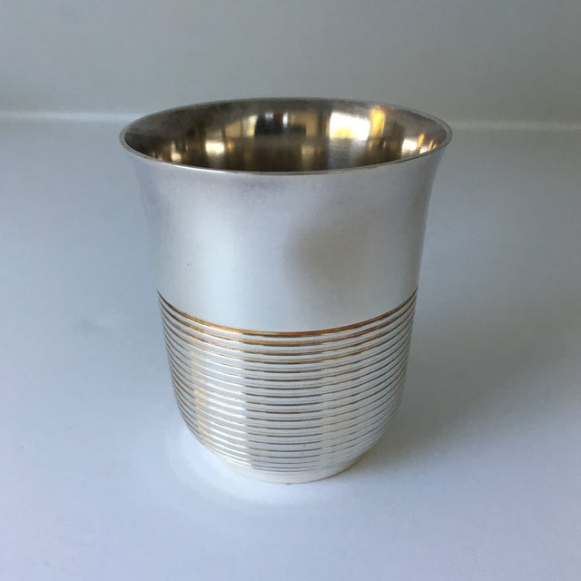 Christofle Silver Plated Babe Tumbler Cup - Image 2 of 11
