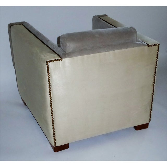 1940s Vintage Paul Frankl Style Streamline Moderne Lounge Chair For Sale In Miami - Image 6 of 12